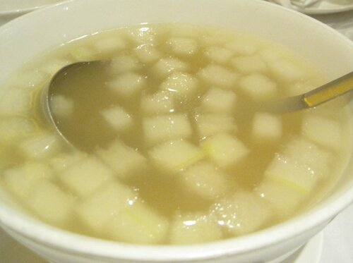Geoduck Winter Melon Soup